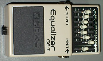 Modified BOSS GE-7 Equalizer