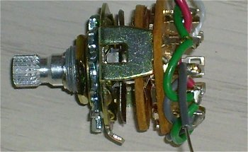 Rotary Switch for electric guitars