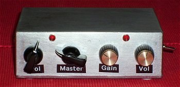 travelling amp with two channels