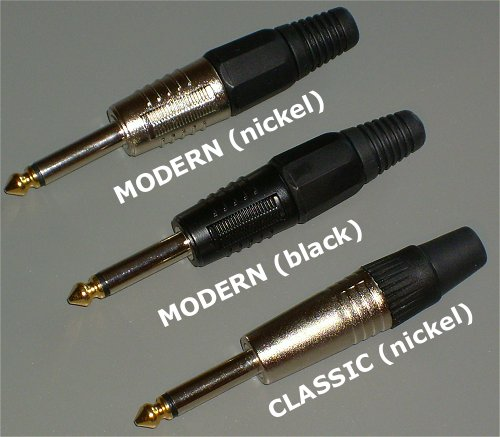 SINGLECOIL Premium Audio Plugs